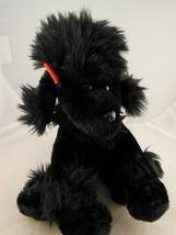 """Poodle Plush 7"""" x 9"""" Black  Dan Dee Collectors Choice ADORABLE Rare - $7.95"""