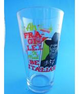 A Christmas Story Movie Glass Darren McGavin  Ah Fragile It Must be Italian - $7.56