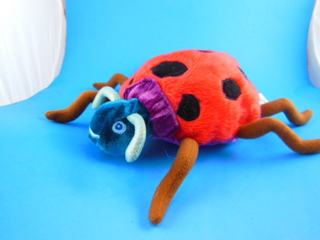 "Primary image for The Grouchy Ladybug 11"" Plush The World of Eric Carle 2007"