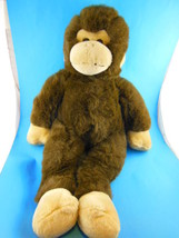 "Build a Bear Ape Monkey Chimp Plush 17"" retired - $7.61"