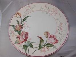 "Beautiful 10.75"" Waverly Flower China Garden Room Garden Lane Colombia - $7.42"