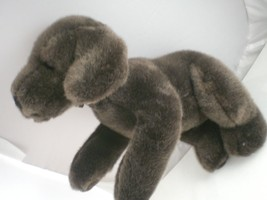 "Russ Berrie 12"" Brown Dog Plush Russ International Very nice Vintage stu... - $9.94"