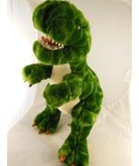 """Green Plush 15"""" Dinosaur Animal Alley Toys R Us 2000 AWESOME! - $16.57"""