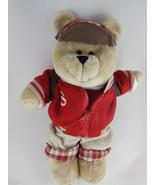 "Starbucks Bearista 10"" Bear Boy Back to School  33rd ed. 2004 - $11.77"