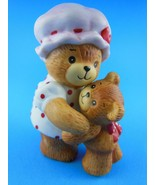 Lucy & Me Figurine Mom Mother & Bear Child  Enesco 1990 - $10.68