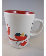 Starbucks Christmas Coffee tea Cup Mug with Red Birds 9 oz. - $6.23