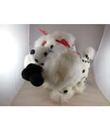 """Adorable 10"""" Dalmation Plush with Snowman Kuddle Me Toys Mint With Tag - $11.93"""