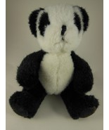 """Adorable Russ Berrie 6"""" Sitting Panda with  Suede Foot Pads - $9.25"""