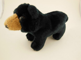 "FOLKMANIS PUPPET 6"" Black Bear Adorable! - $6.23"