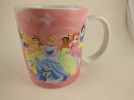 Beautiful Hard to Find Disney Character Mug with 7 Disney Story  Princesses - $8.31