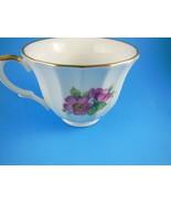 Staffordshire England Beautiful Fine Bone China Tea Cup  Gold Trim Crown... - $6.23