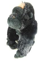 "Silverback Gorilla  Black & Silver very silky fur Ganz Webkinz 9"" AWESOME! - $7.95"