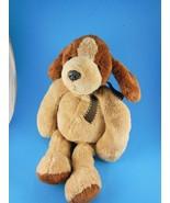 "Adorable 13"" Mary Meyer Puppy Dog Very Soft & Cuddly Beanie Plush - $6.23"