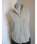 Casual Corner Annex Sleeveless Shirt Petit Medium Label reads Casual cor... - $16.89