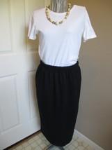 YS Studio Black Skirt  Size 2X Label reads: YS Studio by Youngstuff 50 %... - $34.99