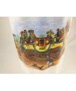 Royal Windsor Bone China Coffe Tea Cup Steam Coach  By Gurney Beautiful - $9.69