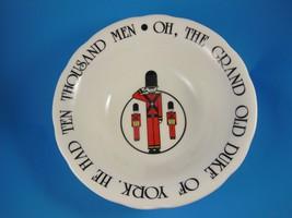 Duke of York English Bone China Beefeaters China Bowl Barbecco Ltd England - $6.92