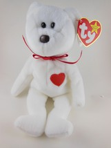 Adorable  Valentines Day  Beanie Babies  Valentino Ty MWT 1993 - $3.97