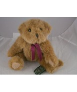 """Small Russ Berrie Teddy Bear ,""""Chadsworth"""", 8""""-6"""" sitting size Light brown - $7.61"""
