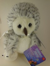 "Russ Berrie Snowy Owl 8"" Shining Stars collection  NWT sealed code - $11.27"
