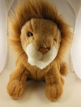 "Beautiful 11"" Russ Berrie Lion Plush Very Nice - $17.32"