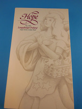 Longaberger Angel Series Pottery Cookie Mold 1994 Joy New In Box - $8.31