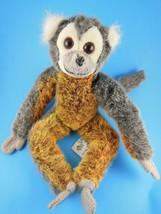 "Russ Berrie Monkey Plush 11"" Gaspard ADORABLE Vintage Primate - $9.94"