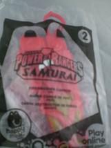 Power rangers saban's McDonald's Happy Meal toy Samurai - $2.76