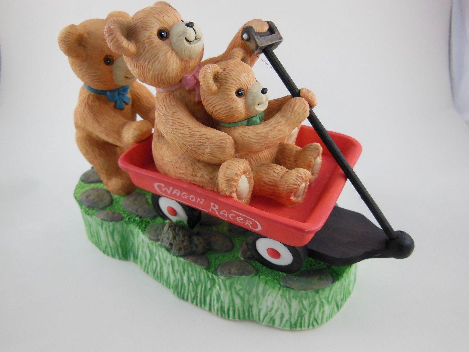Adorable Teddy Bear Music Box Plays