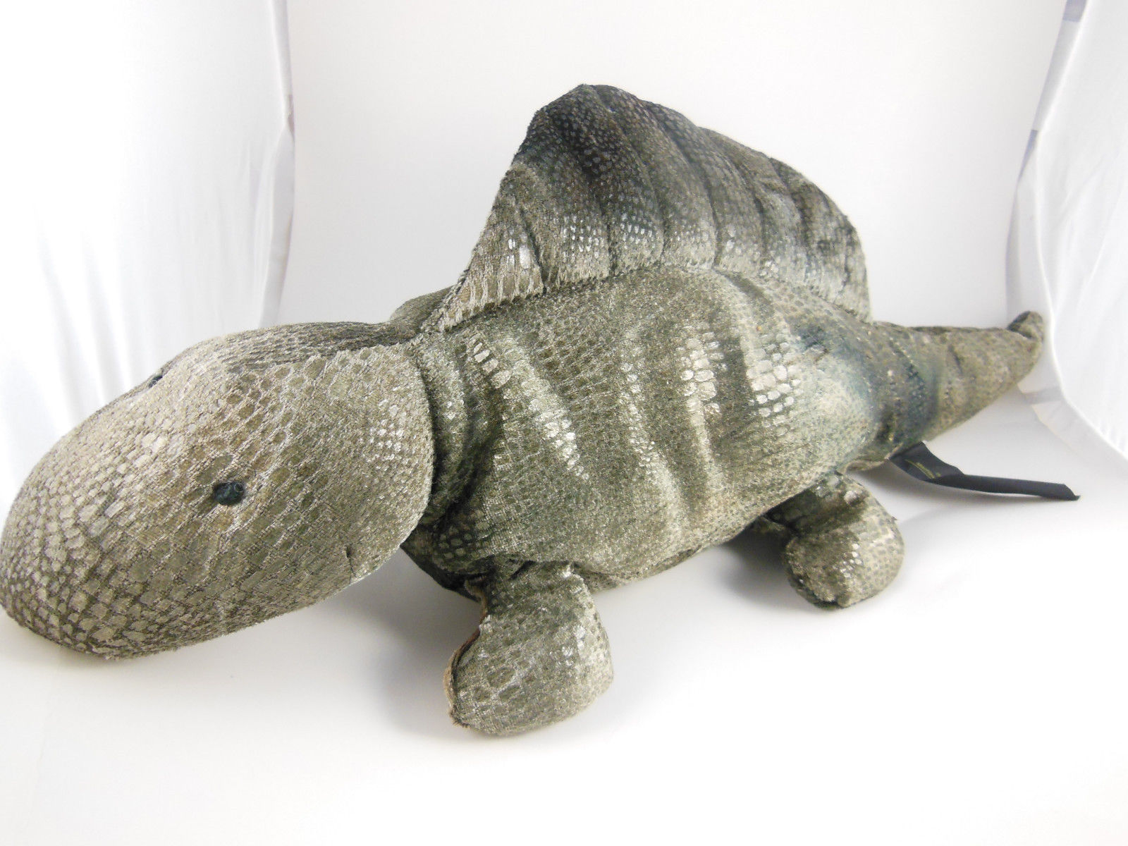 "Primary image for Plush Green Dinosaur 18"" Dimitri  Russ Berrie  Zonies Earth Zone"