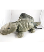 "Plush Green Dinosaur 18"" Dimitri  Russ Berrie  Zonies Earth Zone - $10.60"