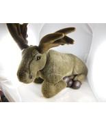 "Moose Plush 18"" Lying Down Fiesta  Nice Quality BEAUTIFUL - $17.24"