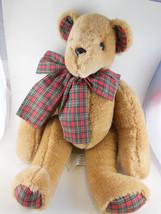 """Vintage 16"""" Lillian Vernon teddy bear  Fully jo... - $24.94"""