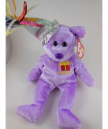 Adorable February Birthday Valentines Day  Beanie Babies  with Hat Ty MWT 2002