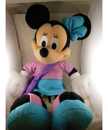 """Large Minnie Mouse Plush 25"""" Incl Shoes & Purse Fisher Price 2002 - $17.32"""
