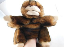 "Folkmanis Monkey Hand Puppet 10""+ 14""  Very Thick Tail Excellent Condition - $13.85"