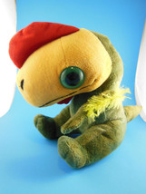 "Rare ! Adorable Baby Dinosaur Plush 8""  with Large Eyes Wild Republic  2011 - $13.85"