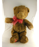 """16"""" Dakin Teddy Bear With Faux Brown Mink Fur & Dakin Logo Patch on Foot - $18.56"""