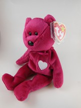 Adorable Valentines Day Beanie Babies Valentina  Ty Retired MWT 1999 - $4.63