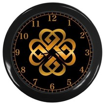 Celtic Knot  Wall Clock Decorative Wall Clock (Black) Gift model 35631850 - $18.18