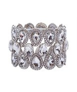 Bridal Wedding Jewelry Crystal Rhinestone Stunn... - $40.40