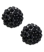 Sparkle Style Fashion Crystal Ball Stud Earring... - $8.80