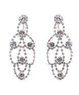 Bridal Wedding Jewelry Crystal Chandelier Drop ... - $18.60