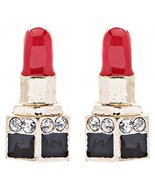 Fun Cute Mini 14mm Lipstick Crystal Rhinestone ... - $6.80