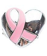 Pink Ribbon Breast Cancer Awareness Jewelry Rib... - $9.30