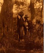 Taos Water Girls 15x22 Edward S. Curtis Native American Indian Art  Phot... - $39.59
