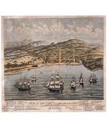 San Francisco 1846 Bird's Eye View Map 22x30 Hand Numbered Ltd. Edition Art - $64.33