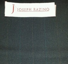 Super 130'S Italian leightWeight Wool Blue Suiting Fabric 7.7 Yards MSRP... - $82.16