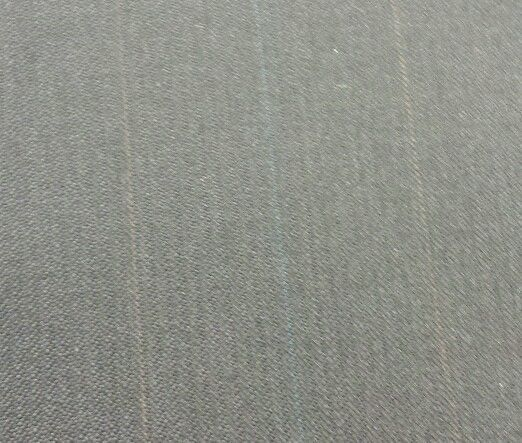 Super 130'S Italian leightWeight Wool Blue Suiting Fabric 7.7 Yards MSRP $1375