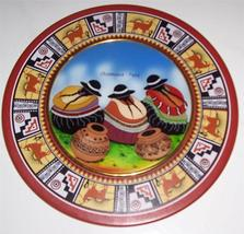 Chismosas Handmade & Handpainted Decorative Wall Plaque Display PERU INCA - $64.96